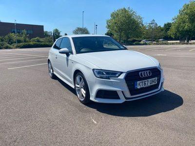 used Audi A3 1.5 TFSI CoD S line (s/s) 3dr