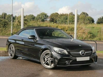 used Mercedes C220 C Classd AMG Line Cabriolet 2.0 2dr