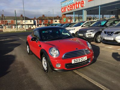 used Mini Cooper Coupé 1.6 3dr [Pepper Pack]