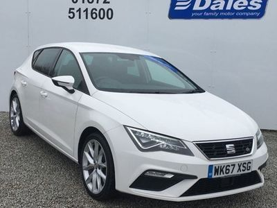 used Seat Leon Hatchback FR Technology 1.4 EcoTSI 150PS DSG auto 5d