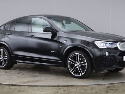 used BMW X4 3.0 XDRIVE 30D M SPORT 5dr