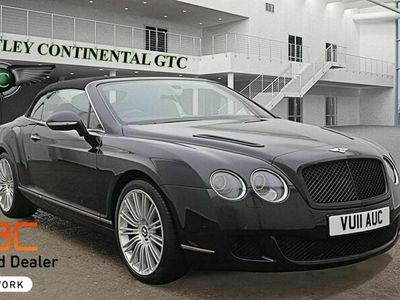 used Bentley Continental 6.0 W12 GTC Auto 4WD 2dr