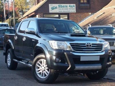used Toyota HiLux 3.0 D4D Invincible Doublecab - ONLY 45000 MILES