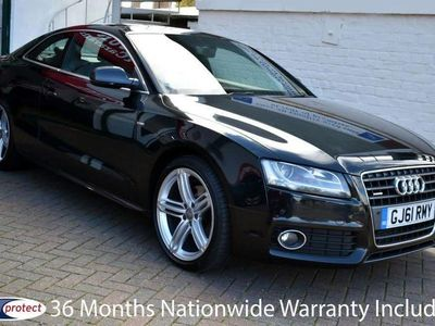 used Audi A5 2.0TDi QUATTRO S-LINE COUPE 6-SPEED 170BHP 36 Mont