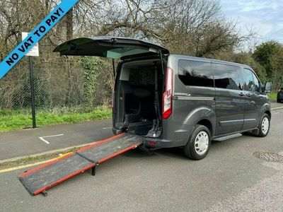 used Ford Custom Tourneo2.0 310 ZETEC TDCI 104 BHP 6 SEATER INDEPENDENCE SWB DISABLED PASSENGER MIN