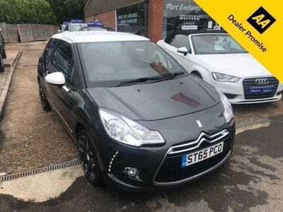 used DS Automobiles DS3 1.2 PURETECH DSTYLE S/S 3d 109 BHP IN GREY WITH ONLY 25607 MILES WITH 2 PRE
