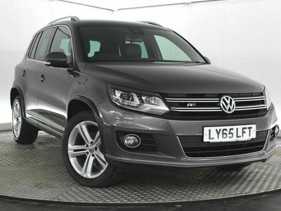 used VW Tiguan 2.0 TDI BlueMotion Tech R-Line Edition DSG 4MOTION (s/s) 5dr