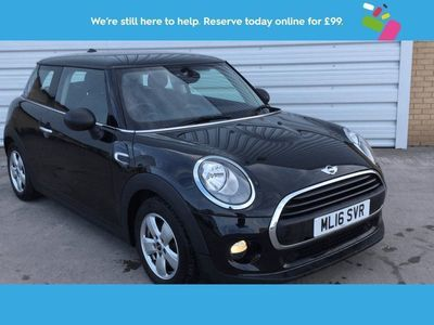 used Mini One D HATCHBACK 1.53dr Black Manual Diesel