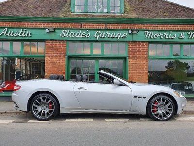used Maserati GranCabrio 4.7 2dr