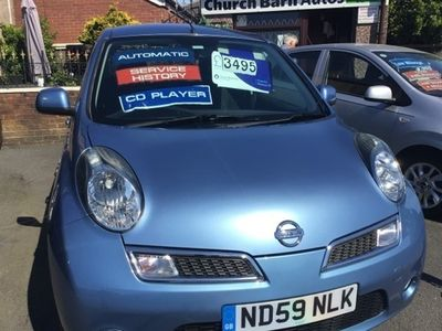 used Nissan Micra 1.2 N-TEC 5DR AUTOMATIC