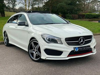 used Mercedes CLA250 CLA4MATIC ENGINEERED BY AMG 2.0 5dr