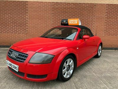 used Audi TT Roadster 1.8 T 2dr