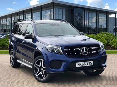 used Mercedes GLS350 GLS Class GLS4Matic Amg Line 5Dr 9G-Tronic SUV 2017
