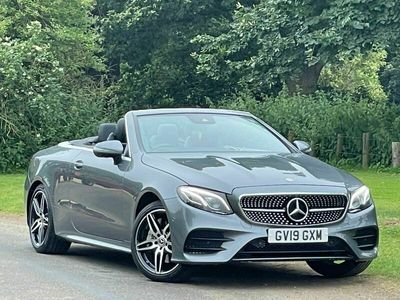used Mercedes E300 E Class 2.0AMG Line Cabriolet G-Tronic+ (s/s) 2dr