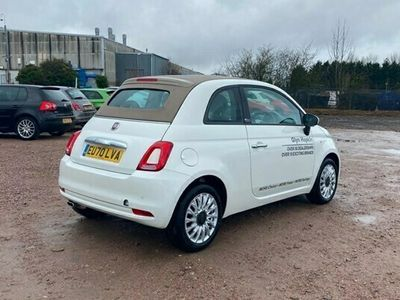 used Fiat 500C 1.2 Lounge (09/15-) 2d Dualogic