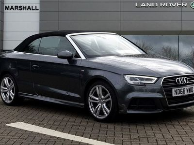 used Audi A3 Cabriolet 1.4 TFSI S Line 2dr S Tronic