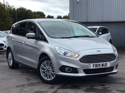 used Ford S-MAX Zetec MPV 5dr Petrol Manual 170 g/km 163.0 BHP