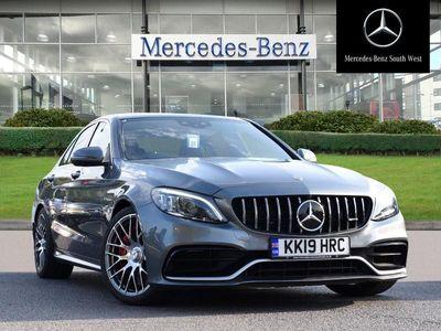 used Mercedes C63S AMG C-ClassPremium Plus 4dr 9G-Tronic