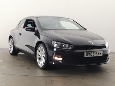used VW Scirocco 2.0 TDi BlueMotion Tech GT 3dr Coupe 2015