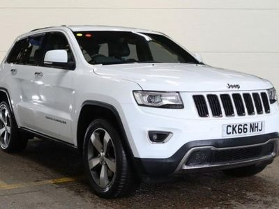 used Jeep Grand Cherokee 3.0 V6 CRD LIMITED PLUS 5d AUTO 247 BHP - SAT NAV. sw diesel