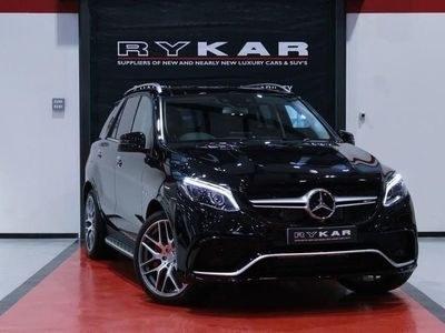 used Mercedes GLE63 AMG GLE Class AMGS 4MATIC PREMIUM 5-Door