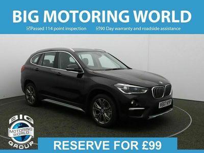 used BMW X1 SDRIVE18D XLINE for sale   Big Motoring World
