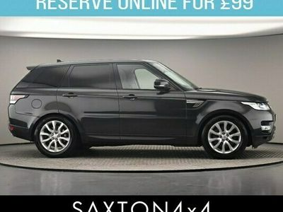 used Land Rover Range Rover Sport 3.0 SD V6 HSE 4X4 (s/s) 5dr