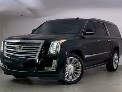 used Cadillac Escalade Platinum