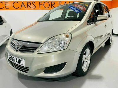 used Vauxhall Zafira 1.6i Exclusiv 5dr, AIR CON, 8 SERVICES