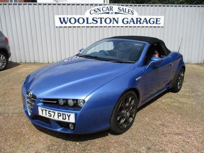 used Alfa Romeo Spider Convertible 2.2 JTS 2d