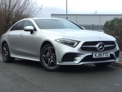 used Mercedes CLS350 CLS DIESEL COUPE4Matic AMG Line Premium + 4dr 9G-Tronic 2018/18