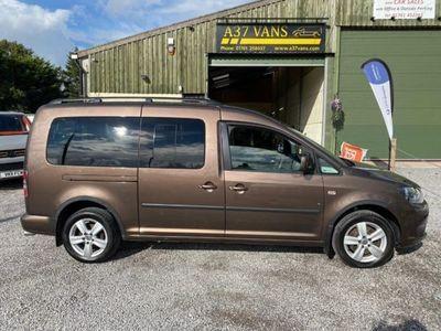 used VW Caddy Maxi C20 LIFE TDI MOBILTY VEHICLE NO VAT Semi Auto 5-Door