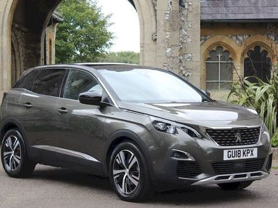 used Peugeot 3008 thp s/s gt line-automatic 1.6 5dr