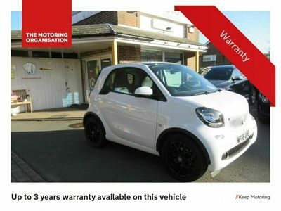used Smart ForTwo Coupé 1.0 EDITION WHITE 2d 71 BHP, CLIMATE CONTROL, TRACTION CONTROL, CRUISE CON 2-Door