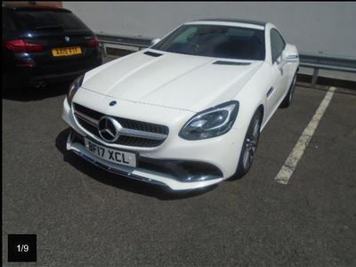 used Mercedes SLC200 SLC ClassAMG Line Convertible Auto SAT NAV/HEATED SEATS/PARKTRONIC/CAMERA 2-Door
