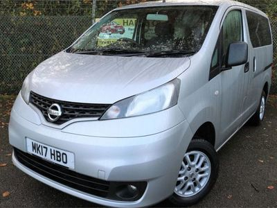 used Nissan NV200 1.5 Acenta DCi 90 Turbo Diesel 7 Seater in Silver