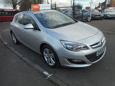 used Vauxhall Astra 1.7 CDTi ecoFLEX SRi (s/s) 5dr