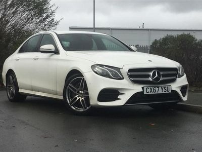 used Mercedes E200 E CLASS DIESEL SALOONAMG Line 4dr 9G-Tronic 2017/67