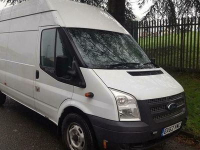 used Ford Transit H/Roof Jumbo Van TDCi 125ps [SRW], 2013 (63)