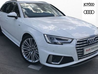 used Audi A4 35 TFSI S Line 5dr Estate 2019