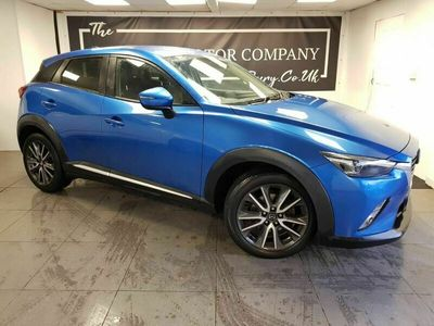 used Mazda CX-3 1.5 D SPORT NAV 5d 104 BHP + SERVICE HISTORY + CLICK AND COLLECT OPTIONS AVAILABLE