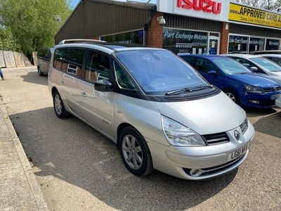 used Renault Grand Espace 2.0L DYNAMIQUE TOMTOM DCI 5d AUTO 175 BHP IN SILVER WITH 120,000 MILES AND