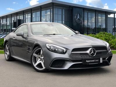 used Mercedes SL400 SL CLASS CONVERTIBLEAMG Line 2dr 9G-Tronic