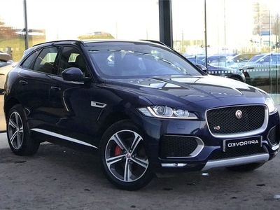 used Jaguar F-Pace 3.0 Supercharged V6 S 5Dr Auto Awd