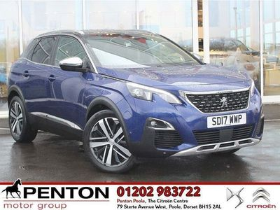 used Peugeot 3008 2.0 Bluehdi 180 Gt 5Dr Eat6