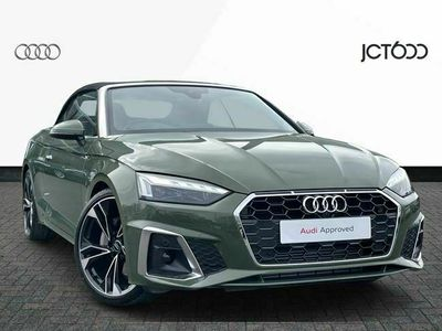 used Audi A5 Cabriolet 40 TFSI 204 Edition 1 2dr S Tronic special editions