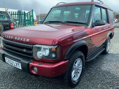 used Land Rover Discovery Discovery 2003 LANDROVER2.5 Td5 S 7 seat 5dr 4X4 MANUAL NO SUNROOF