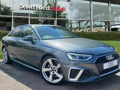 used Audi A4 2.0 TFSI 35 S line S Tronic (s/s) 4dr