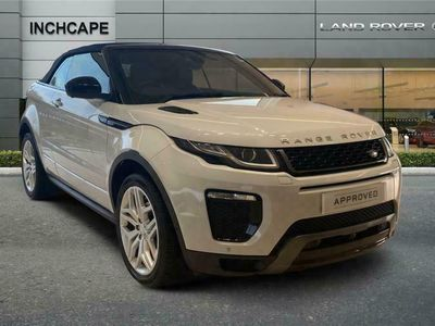 used Land Rover Range Rover evoque Diesel Convertible 2.0 TD4 HSE Dynamic Lux 2dr Auto
