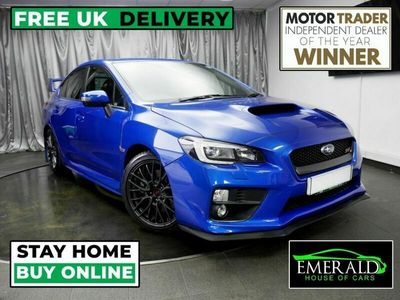 used Subaru WRX 2.5 STI TYPE UK 4d 300 BHP CLICK & COLLECT/ DELIVER